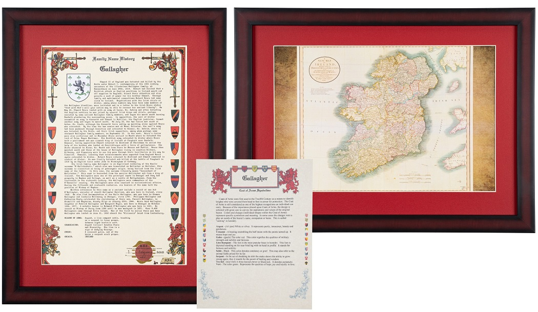 Family Heritage History and Map Set