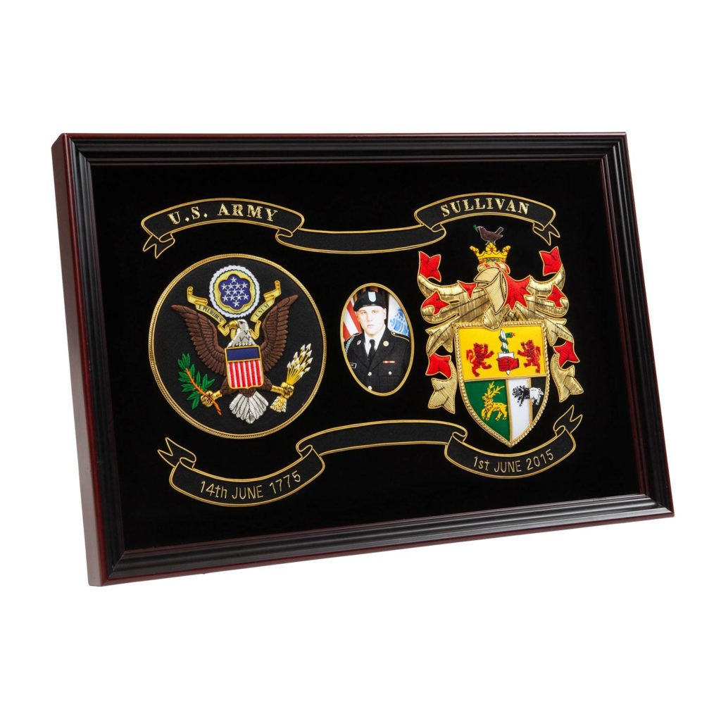 Army Graduation Shadow Box