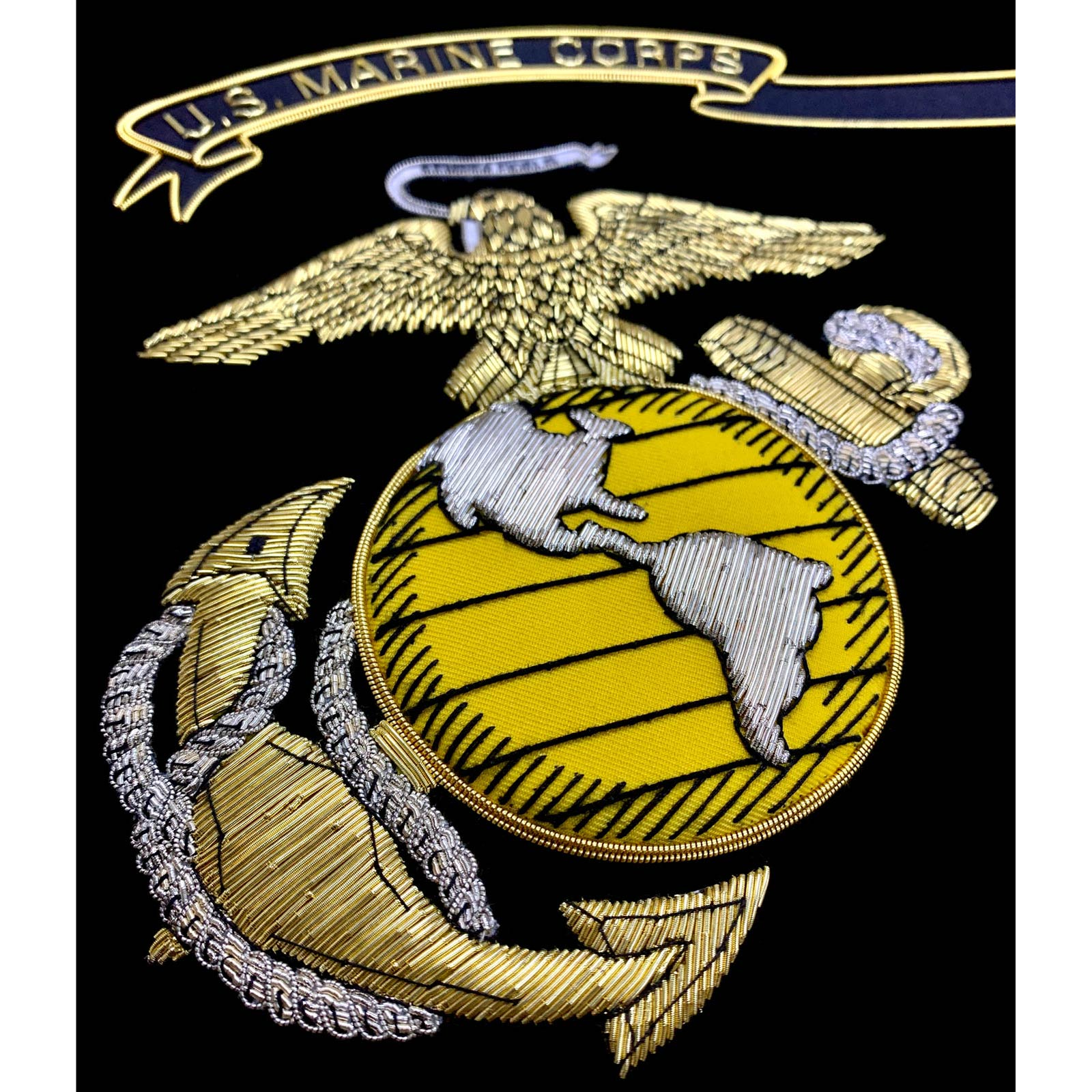 United States Marine Corps Insignia Embroidered