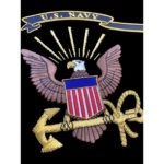 United States Navy Insignia Embroidered