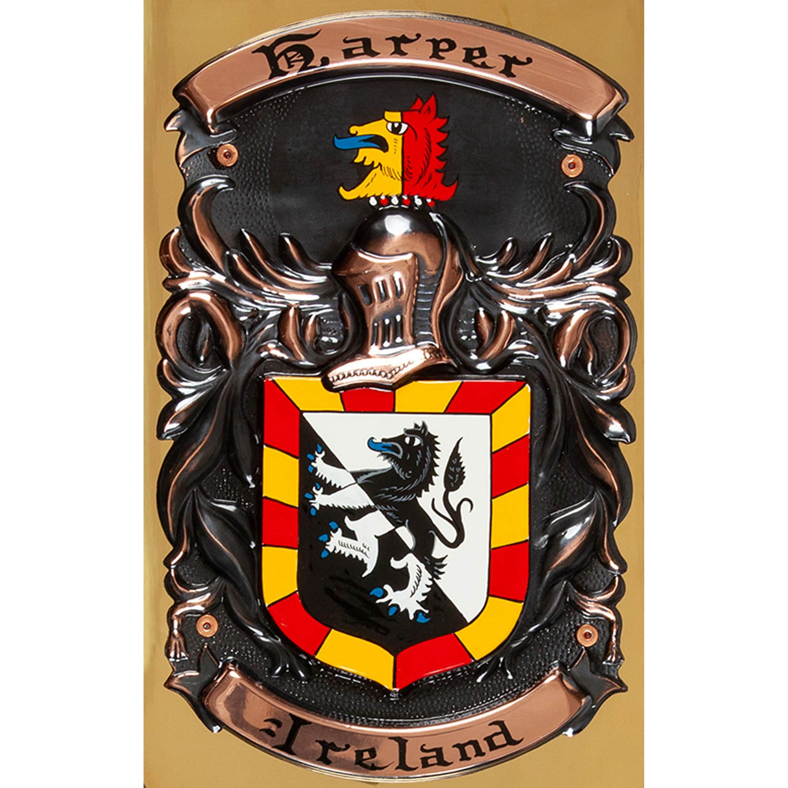 Coat of Arms hand painted